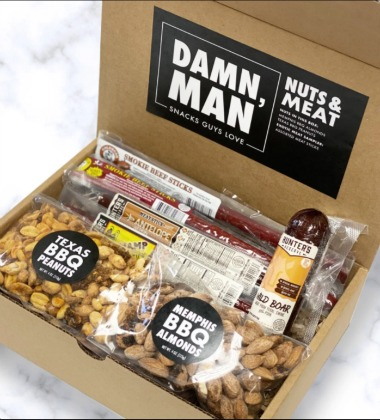NUTS AND EXOTICS MEATS BOX FOR MEN