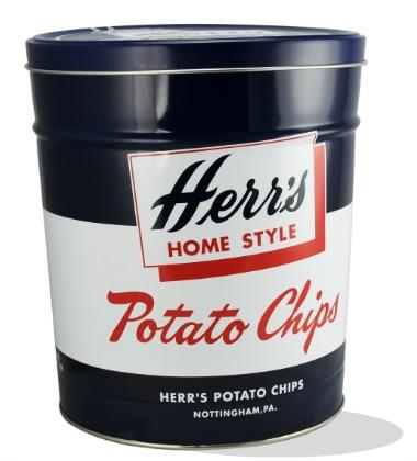 Herr's Snacks Retro Tins gift idea