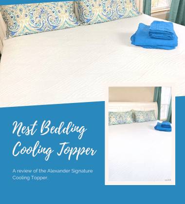 Nest Bedding Cooling Topper gift guide image