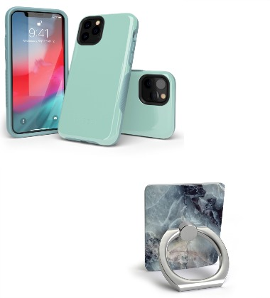 casely cell phone case and phone ring