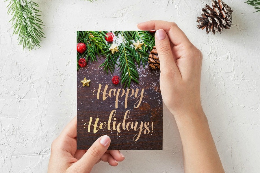 christmas card you can make similar ones at Basic Invite website