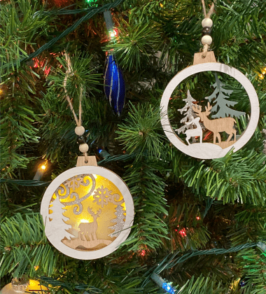 joiedomi ornaments on tree