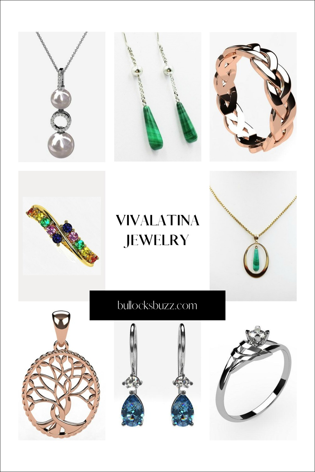 Of all the gifts you can choose, the gift of jewelry is one of the most thoughtful and memorable. And it's even more so when you give a custom piece from Vivaltina Jewelry.