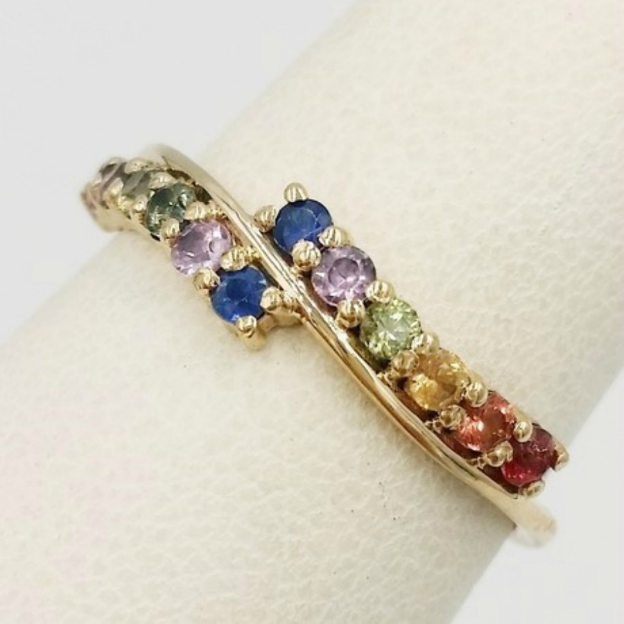 Vivalatina Jewelry Rainbow Ring