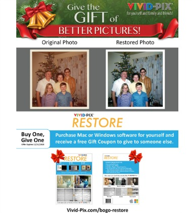 Vivid-Pix Buy One - Gift One for the Holidays 2020
