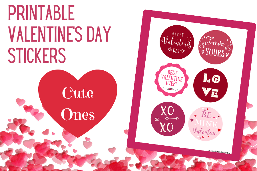 Cute Valentines stickers
