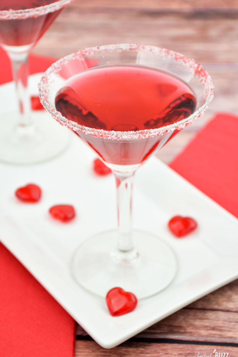 This fruity Cupid's Heart Valentine's Day Cocktail recipe is a perfectly sweet way to add a splash of romance or fun to your celebration.