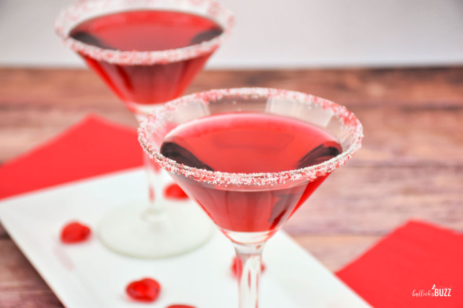 Easy Valentine's Day Cocktail recipe