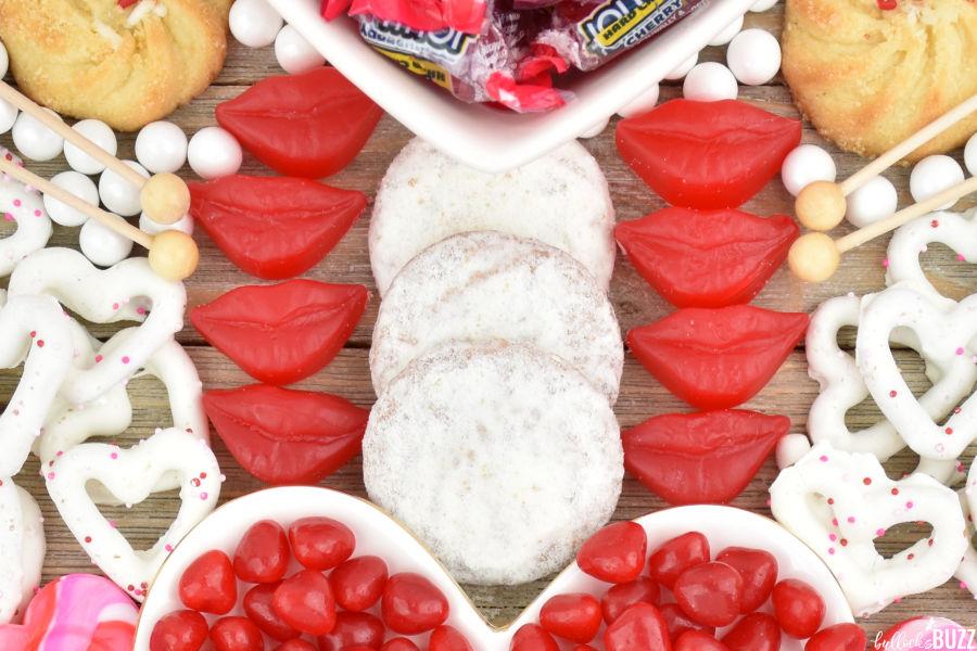 cookies and cinnamon gummy lips