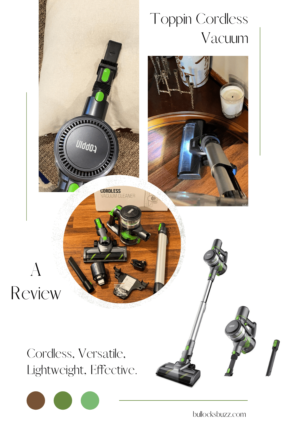 7 reasons why you'll love the Toppin cordless vacuum