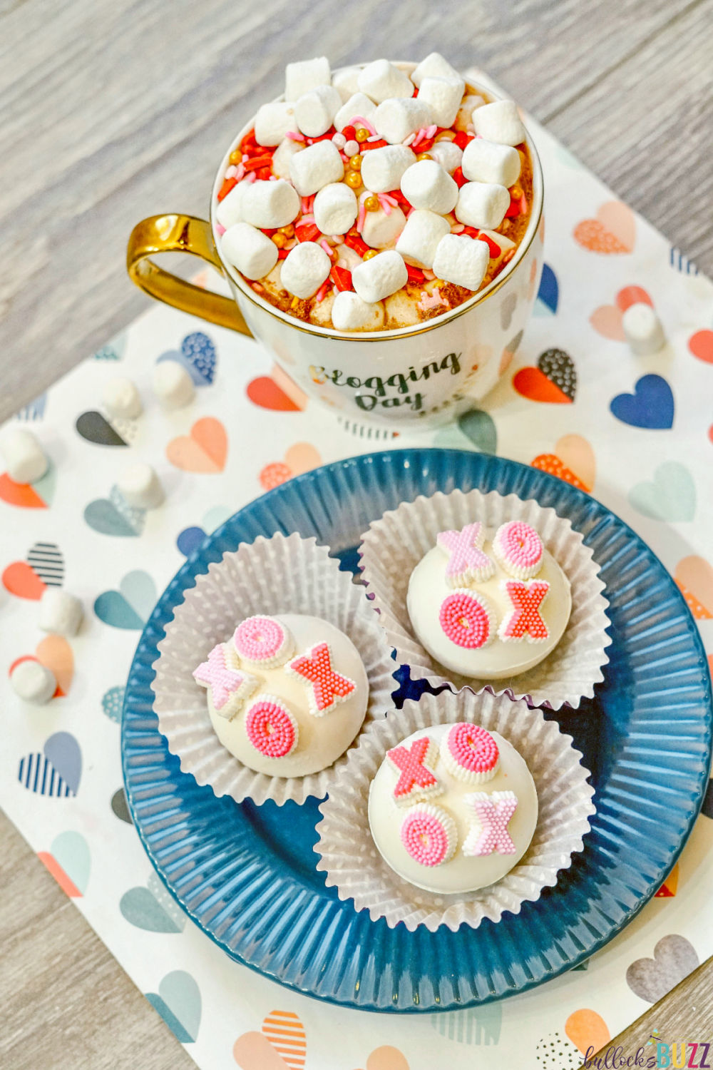 These XOXO Valentine's Day Hot Cocoa Bombs are so much fun to make and even more fun to enjoy! They might look complicated, but with a little practice and the right ingredients and tools, making them is easier than you think!