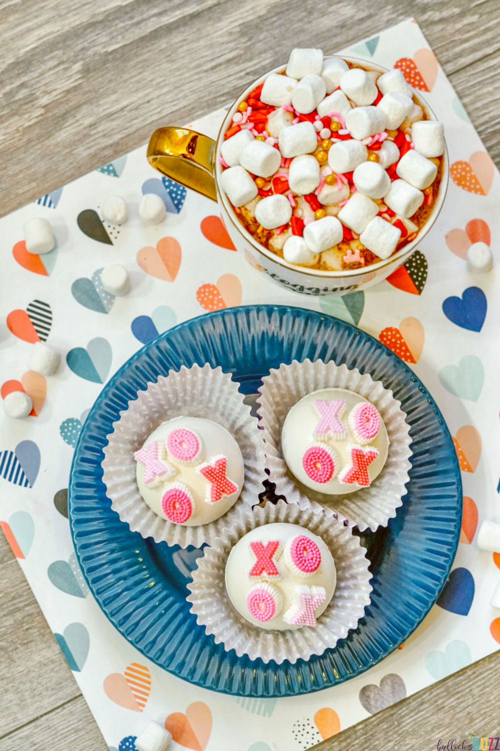 These super cute homemade hot cocoa bombs are fun to make and to drink. Plus they make a great Valentine's or Galentine's gift!