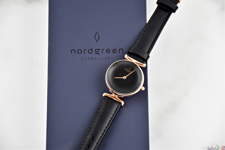 Nordgreen Unika watch laying across box