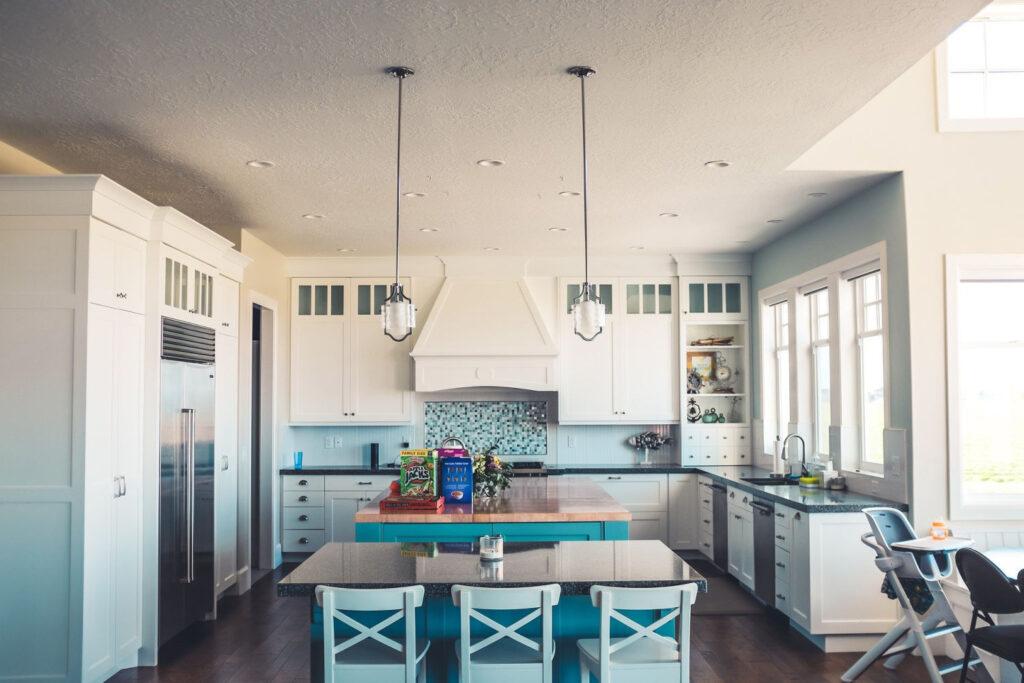 remodeled kitchen using kitchen design tools