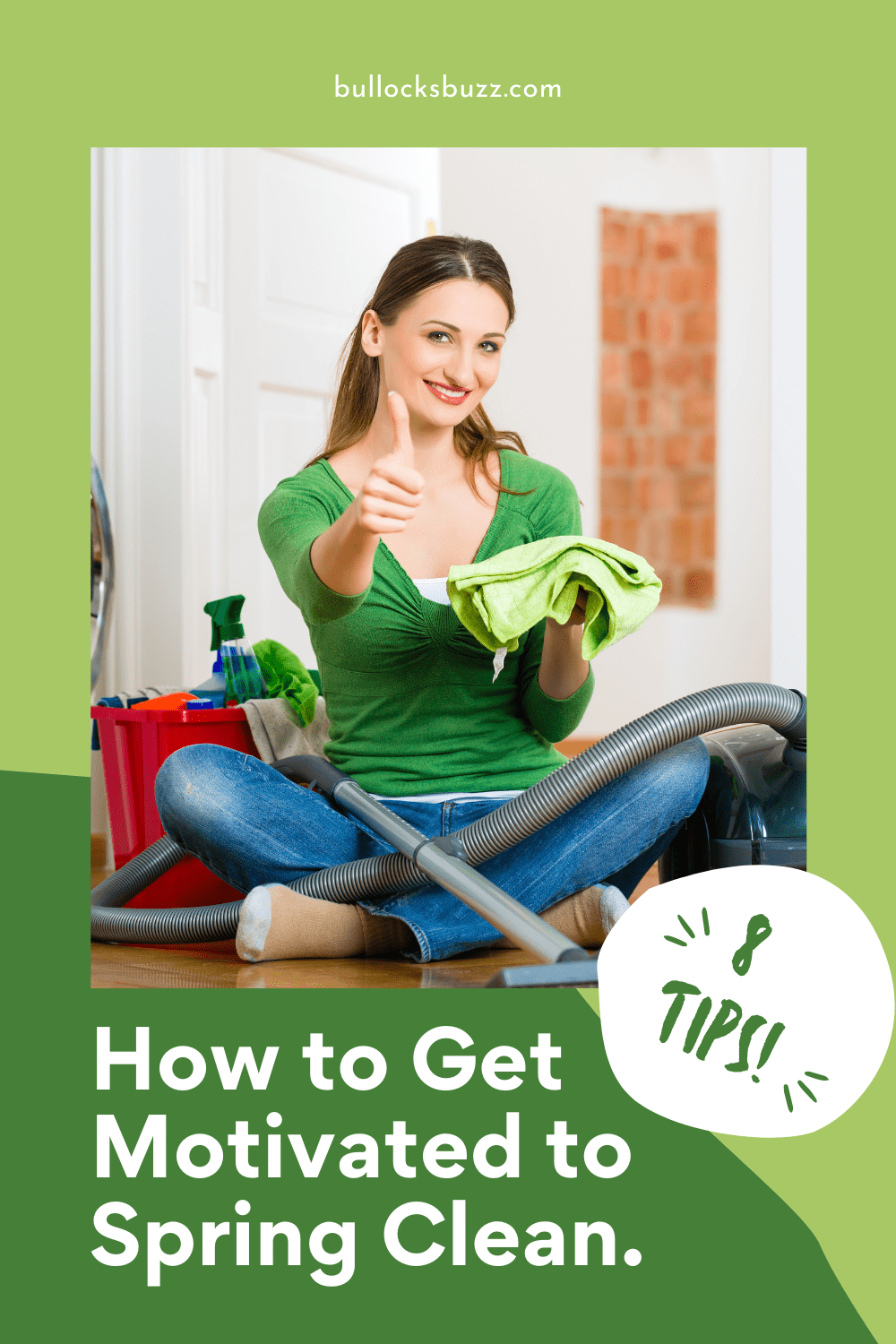 If you're not motivated to get started on cleaning your home — check out this list of 8 ways to get motivated to Spring clean.