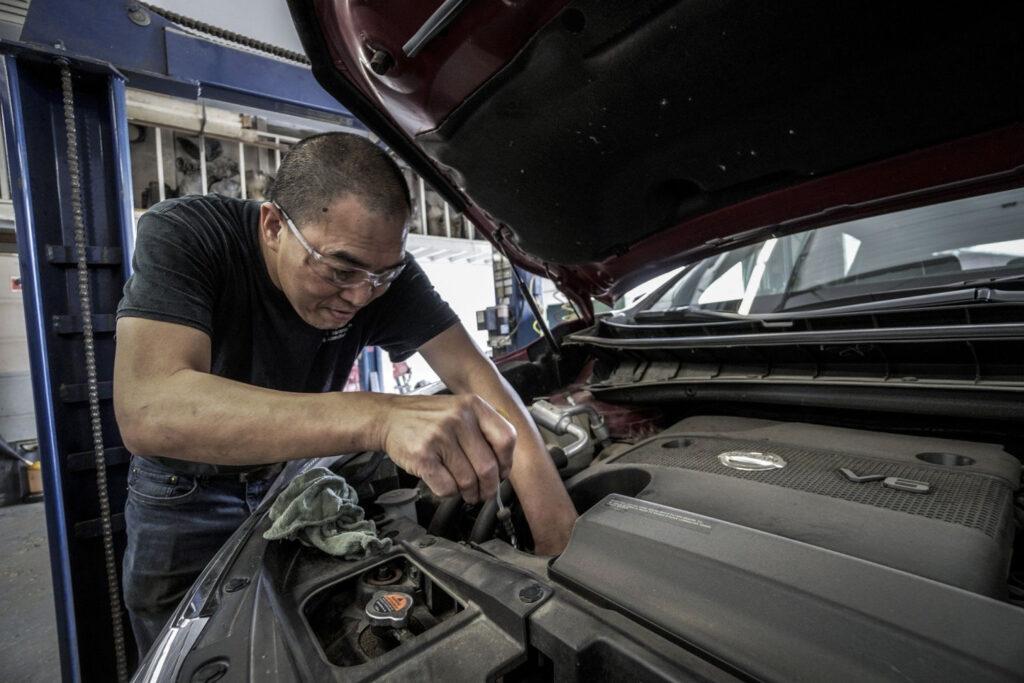 DIY car maintenance like an opil change