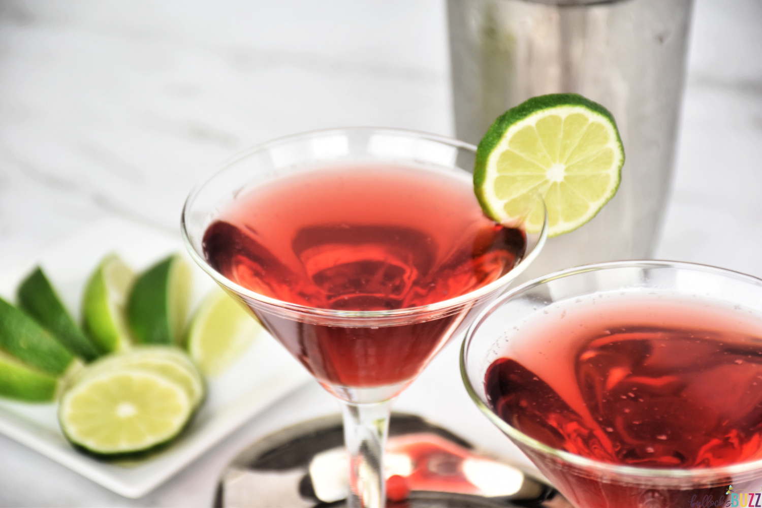 close up of cocktail