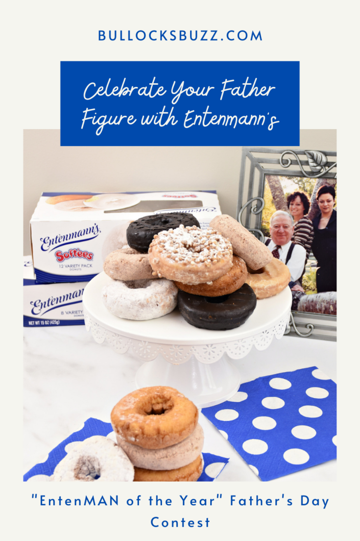 AD Celebrate Father's Day with Entenmann's donuts by entering the father figure in your life with the EntenMAN of the Year contest! #giveaway #Entenmanns #EntenMANofTheYear