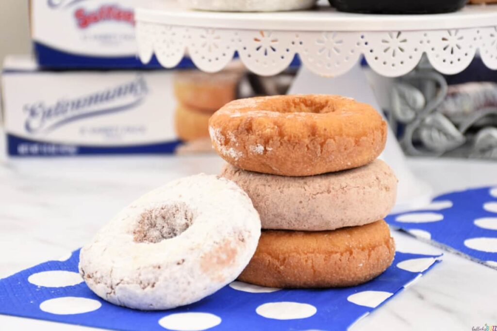 celebrate Father's Day with Entenmann's and their sweet donuts like these