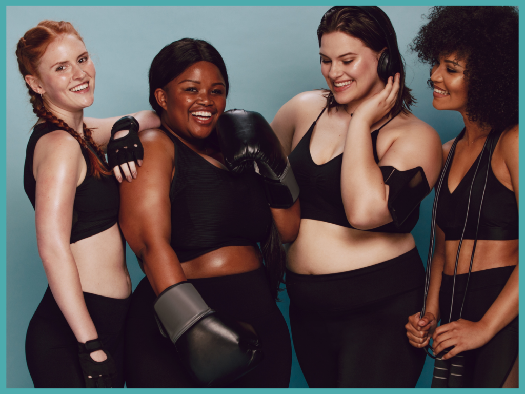 women of all sizes can Improve Confidence in Your Physical Appearance