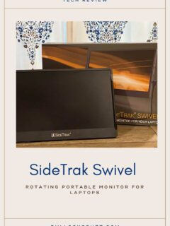 If you're looking for a high-quality, durable, and portable second monitor for your laptop, see why the SideTrak Swivel may be perfect for you