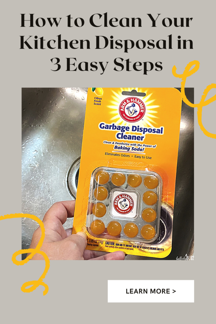 how to clean your kitchen disposal in 3 simple steps with arm and hammer garbage disposal cleaner