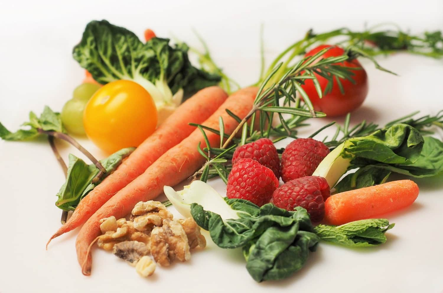 eating a healthy diet with veggies like these is another easy healthy habit
