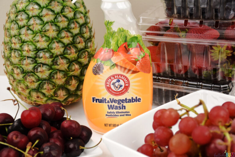 An Easier Way to Clean Produce – Arm & Hammer Fruit and Vegetable Wash