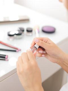 organize your makeup drawer