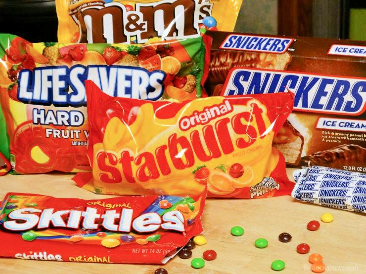 candies in packaging