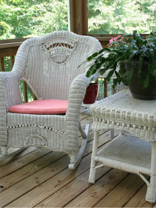 why wicker furniture like this belongs in any home