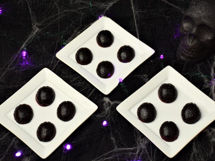 easy boozy gummy brains for Halloween
