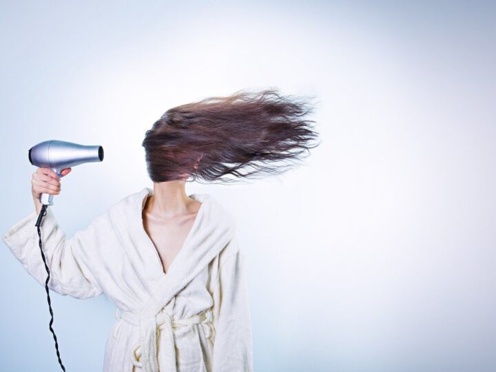 blow drying wet hair is one of the most common hair care mistakes