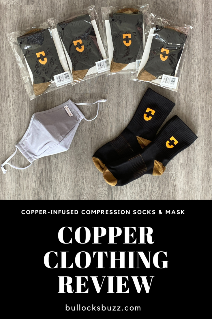 How well does copper-infused clothing work? Read on for my honest Copper Clothing review of their compression socks and facial mask.